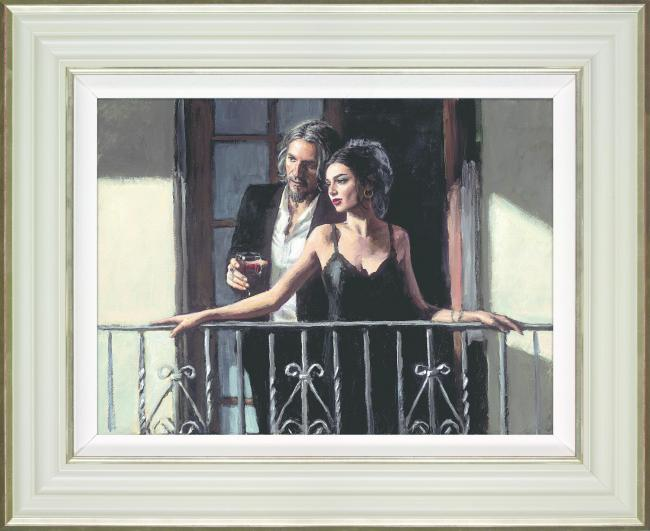 Fabian Perez's work will be displayed at the Whitewall gallery in Merry Hill on June 29.