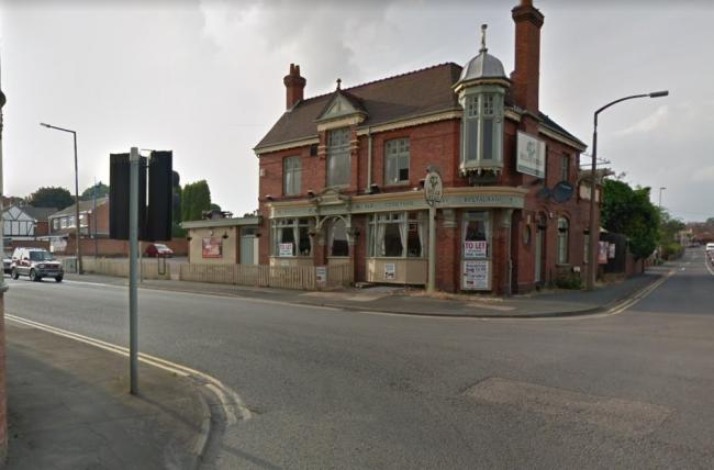 The crash happened on Himley Road, close to the Bull's Head pub. Image: Google Maps.