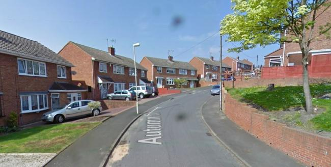 Police were initially called to Autumn Drive in Gornal before the chase took place. Image: Google Maps.