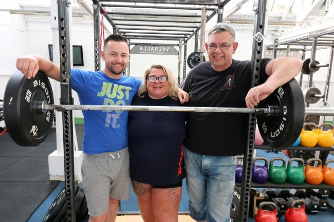 Medal-winning powerlifter and single mum of two called up to