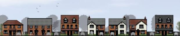 Halesowen News: How the new homes will look. Images courtesy of Persimmon Homes