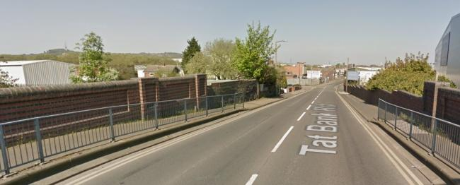 Medics and firefighters were called to Tat Bank Road in Oldbury. Image: Google Maps.