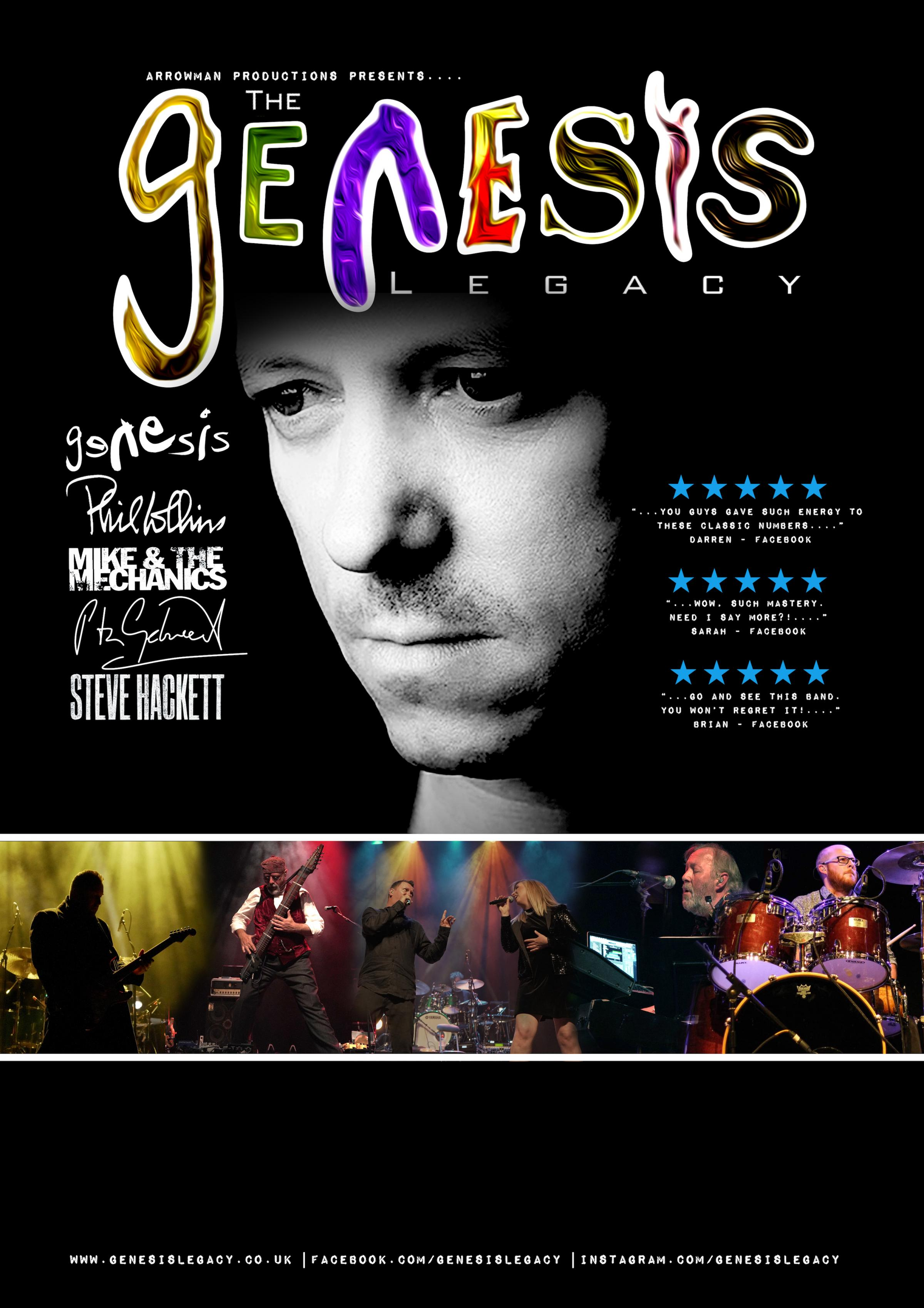 Genesis Legacy - Tribute Show - Redditch Palace