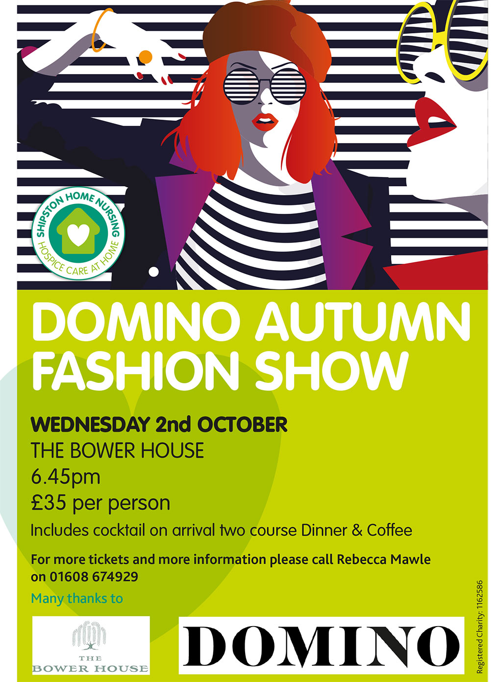 Domino Fashion Show for Shipston Home Nursing