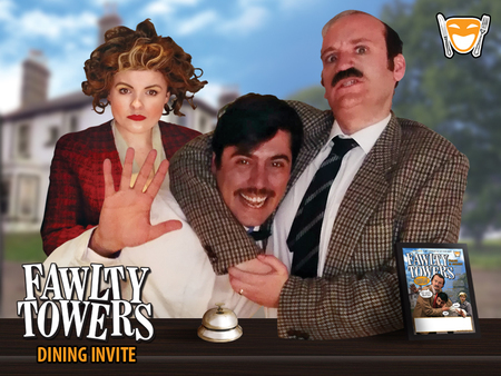 Fawlty Towers Dinner Show Dudley 02/11/2019