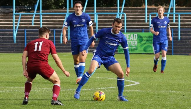 Action from halesowen's defeat against Welwyn Garden City