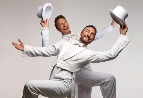 Vincent Simone and Ian Waite will perform at Stourbridge Town Hall next year.