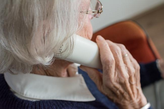 The fraudsters are targeting the landline telephone numbers of elderly people