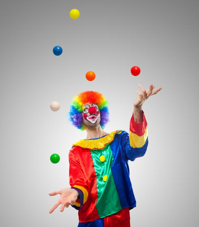 The show will feature the chance to learn circus skills