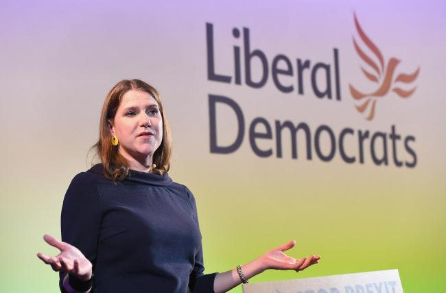 Jo Swinson giving her first major speech as Leader of the Liberal Democrats since she was elected last month at Code Node in London. PRESS ASSOCIATION Photo. Picture date: Thursday August 15, 2019. See PA story POLITICS LibDems. Photo credit should read: