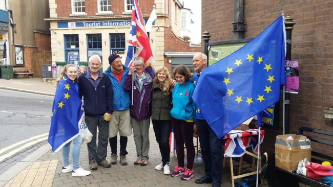 A previous Malvern for Euurope stall.