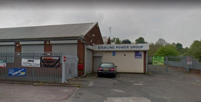 The vacant unit at Belfont Trading Estate in Halesowen. PIC: Google Street View
