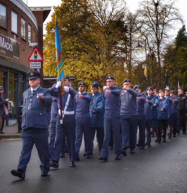 Halesowen News: The parade in Halesowen. Pic courtesy of Gemma Cross - News Group Camera Club