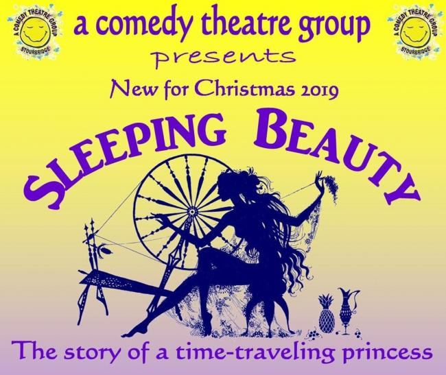A Comedy Theatre Group will present an original take on the classic Sleeping Beauty fairytale on December 13 and 14