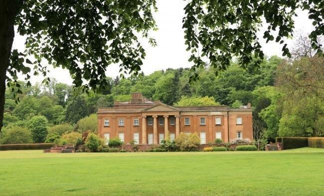 The park at Himley Hall is now closed after people were seen gathering in groups at the beauty spot.