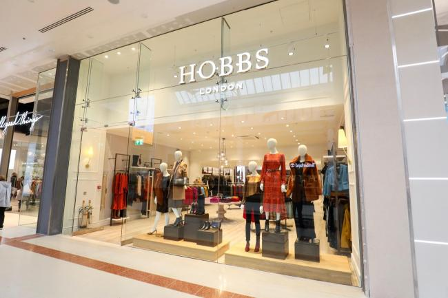 Designer retailer Hobbs is now open in Merry Hill.
