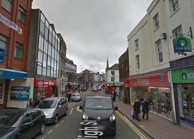 Dudley High Street. Image: Google Maps.
