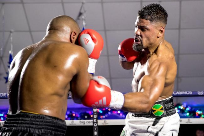 Lennox Clarke (right) wants a British and Commonwealth title rematch. Picture: Manjit Narotra.