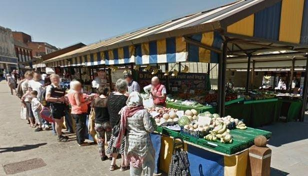 Dudley Market. Image: Google Street View.