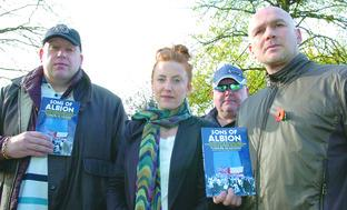 Jon Newey, Caroline Gall, Snarka Freeth and Tony Freeth who all contributed to the book Sons of Albion.