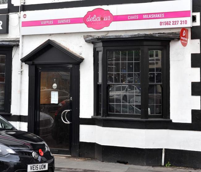 Delicious Desserts in New Road has been given a four out of five food hygiene after a revisit by inspectors