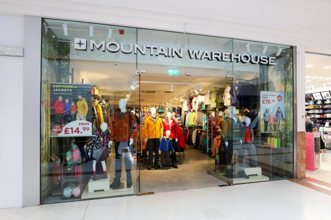 Mountain Warehouse which opened on February 22.  Picture by Shaun Fellows / Shine Pix