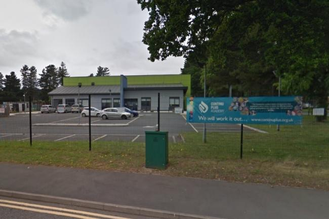 ContinU Plus Academy in Finepoint Way, Kidderminster, has closed today due to coronavirus fears. Photo from Google Maps