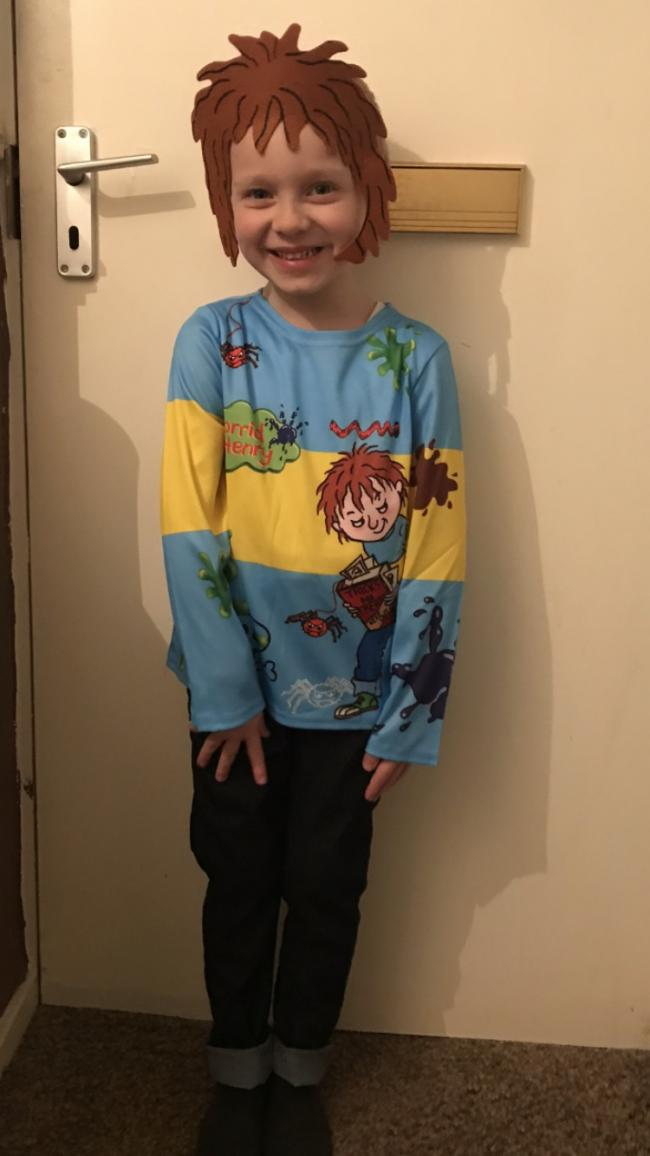 Tyler-Blui as Horrid Henry