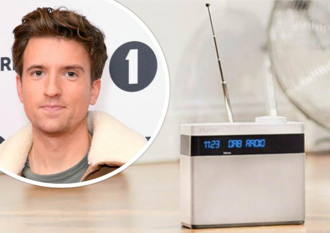 BBC Radio 1 presenter Greg James, pictured, is affected by the changes. Picture: Inset from PA Wire/RadioCentre