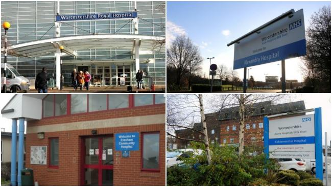 EXTERIOR: Worcestershire hospitals