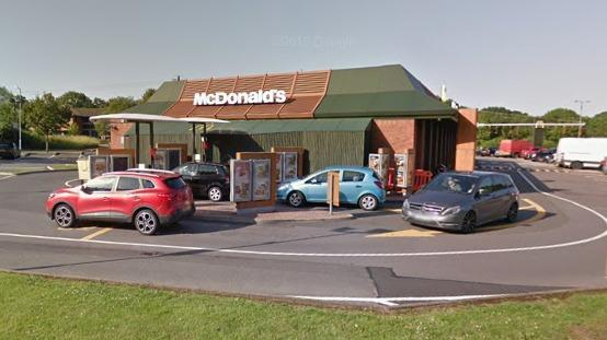 McDonald's on Clews Road. PIC: Google Maps