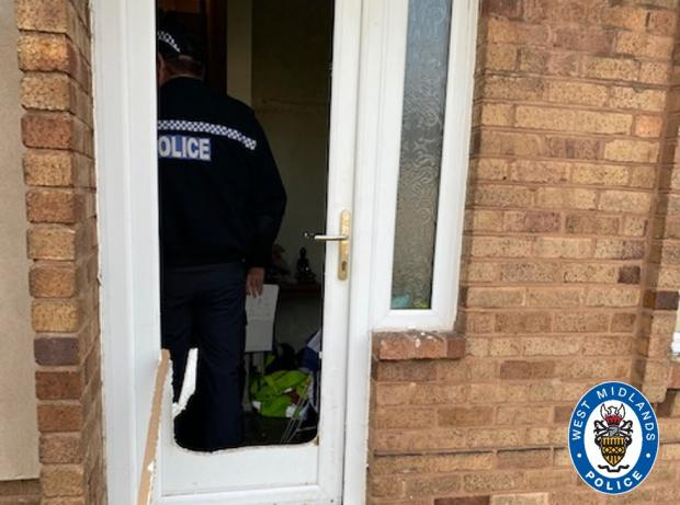 Halesowen News: Police raided two addresses on Spring Meadow Road in Netherton