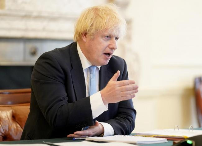 ANNOUNCEMENT: Prime Minister Boris Johnson has made an announcement on the easing of lockdown. Picture: Andrew Parsons/PA Wire