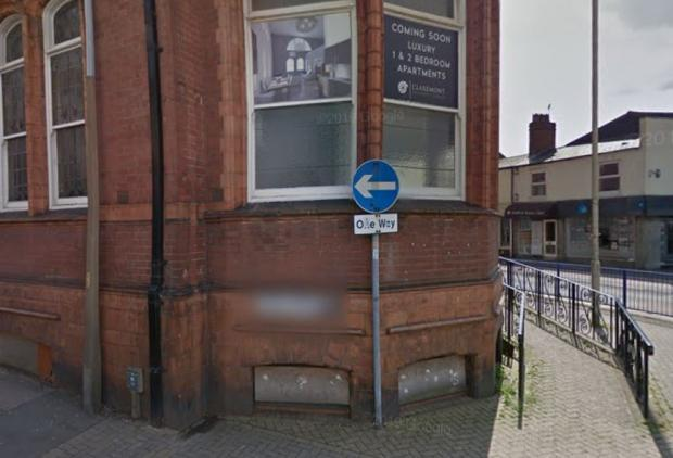 Halesowen News: The basement windows are currently boarded up. Pic - Google Street View