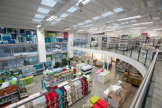 Dunelm is trialling a virtual shopping experience in Redditch