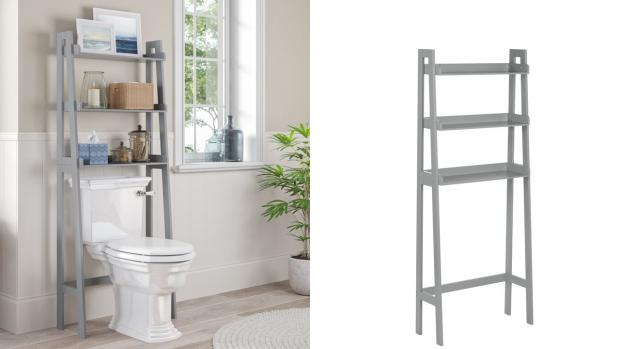 Halesowen News: Over-the-toilet units provide a lot more storage space. Credit: Wayfair