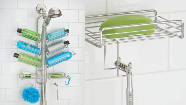Halesowen News: A shower caddy will provide extra space for soap, shampoo, and more. Credit: Amazon