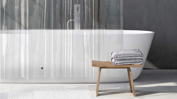 Halesowen News: A clean shower liner will make your bathroom much more welcoming. Credit: Amazon
