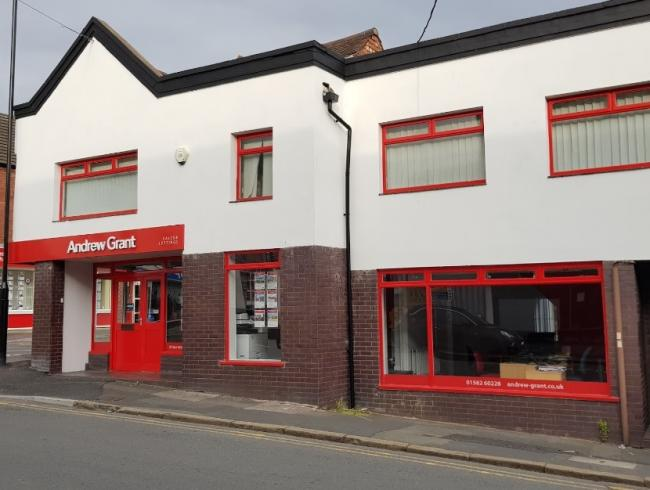 Estate agents Andrew Grant has closed its offices in Bromsgrove, Kidderminster, Stourbridge, Ludlow and Worcester. Photo from Google