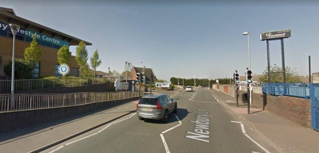 The site is opposite Portway Lifestyle Centre. Pic: Google