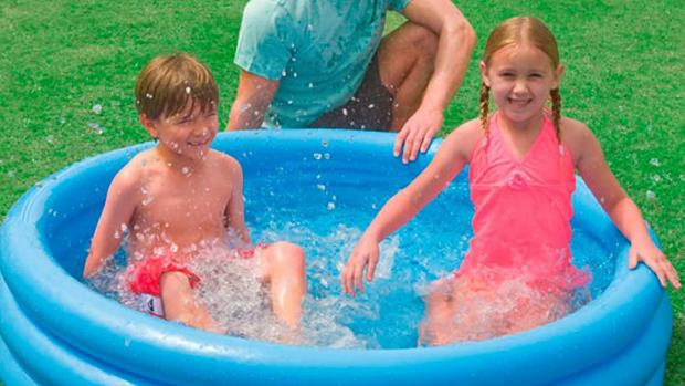 Halesowen News: Lower your body temp with this inflatable pool. Credit: Intex