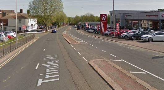 Trindle Road in Dudley. Image: Google Maps.