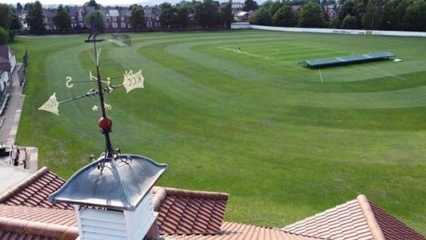 Halesowen News: The weather vane on top of the current pavilion built in 1925