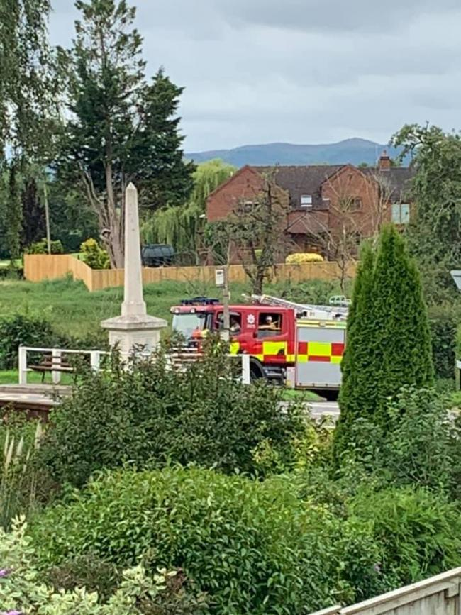 Emergency services called after man fell in River Severn