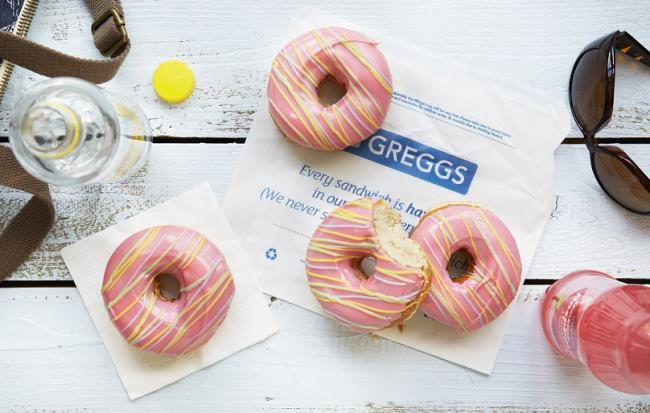 Greggs are giving a FREE treat to college and university students. Picture: Greggs