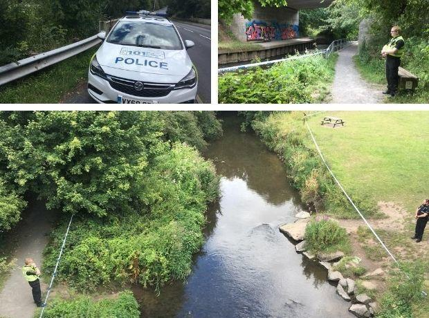 CORDON: The River Salwarpe in Droitwich. Photos: James Connell