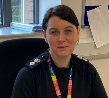 Chief Superintendent of Dudley police Kim Madill. Pic: West Mids Police