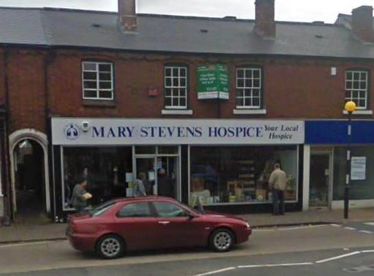 Mary Stevens Hospice shop in Wollaston. Pic - Google Street View