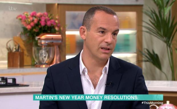 Halesowen News: Martin Lewis speaking on ITV's This Morning
