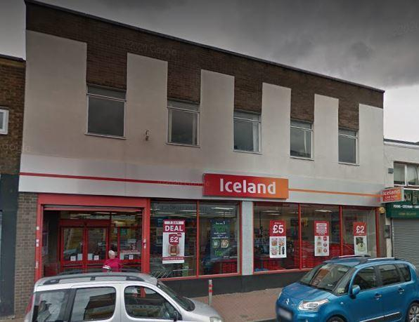 Iceland in Cradley Heath. Pic - Google